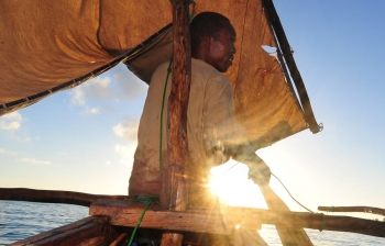 Tanzania, Africa; Fishing for family
